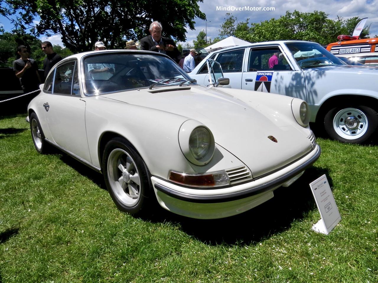 Porsche 911 Cannonball