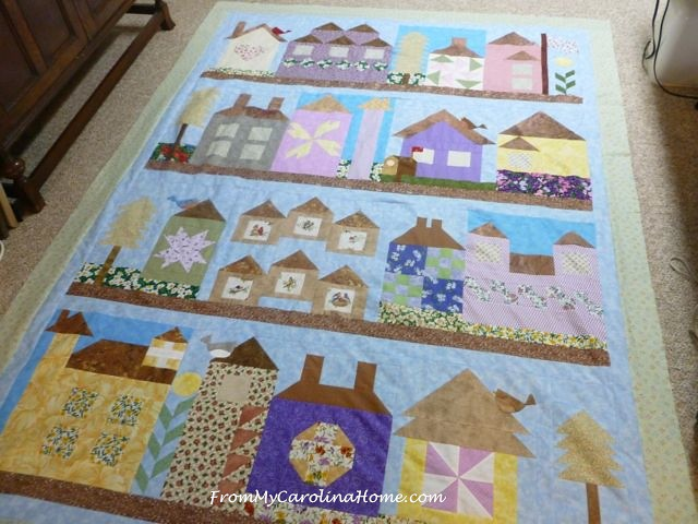 Be My Neighbor Quilt Assembly at From My Carolina Home