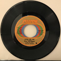 BILL WITHERS:LEAN ON ME(RECORD SIDE-A)
