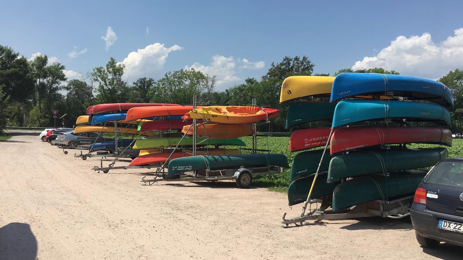 Sortie Kayak avec la JEF Fribourg Juin 2017