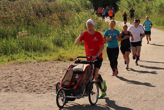 Örebro Parkrun den 5 augusti. Ännu en underbar start på lördagen