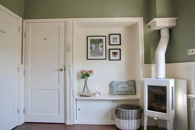 Keuken landelijke stijl groen