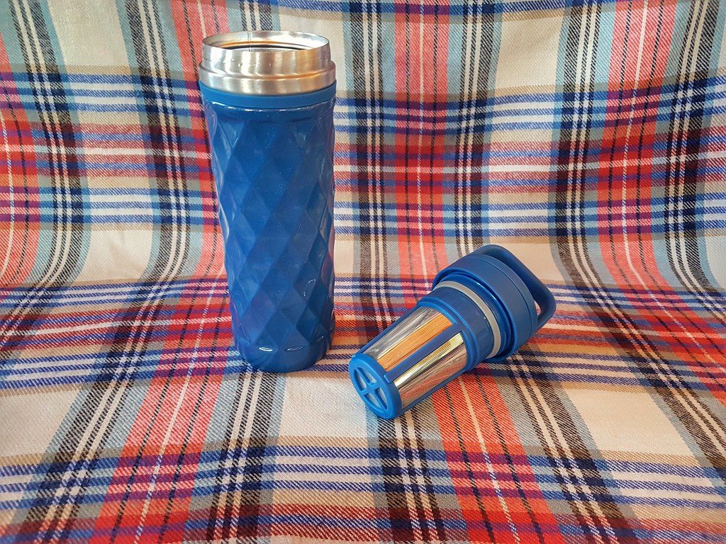 Davids Tea Travel Mug and Steeper