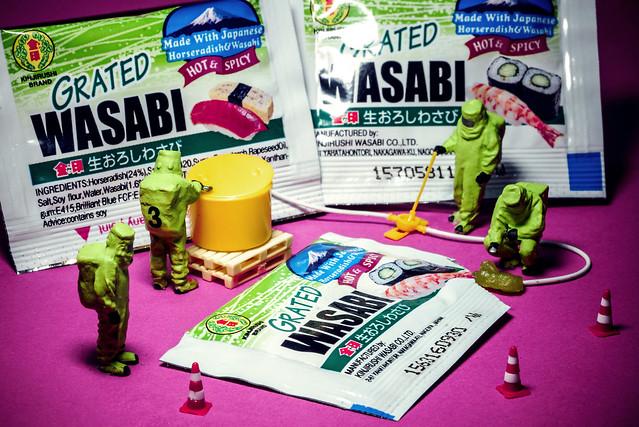 Gefahrgutunfall Wasabi - Dangerous goods accident with Wasabi