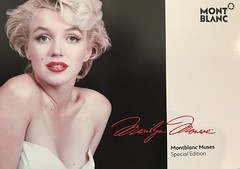 Montblanc Boutique Toronto Marilyn Monroe Limited Edition Debut