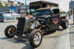Invasion Car Show in Deep Ellum. Dallas, TX