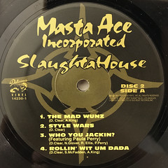 MASTA ACE INCORPORATED:SLAUGHTAHOUSE(LABEL SIDE-C)