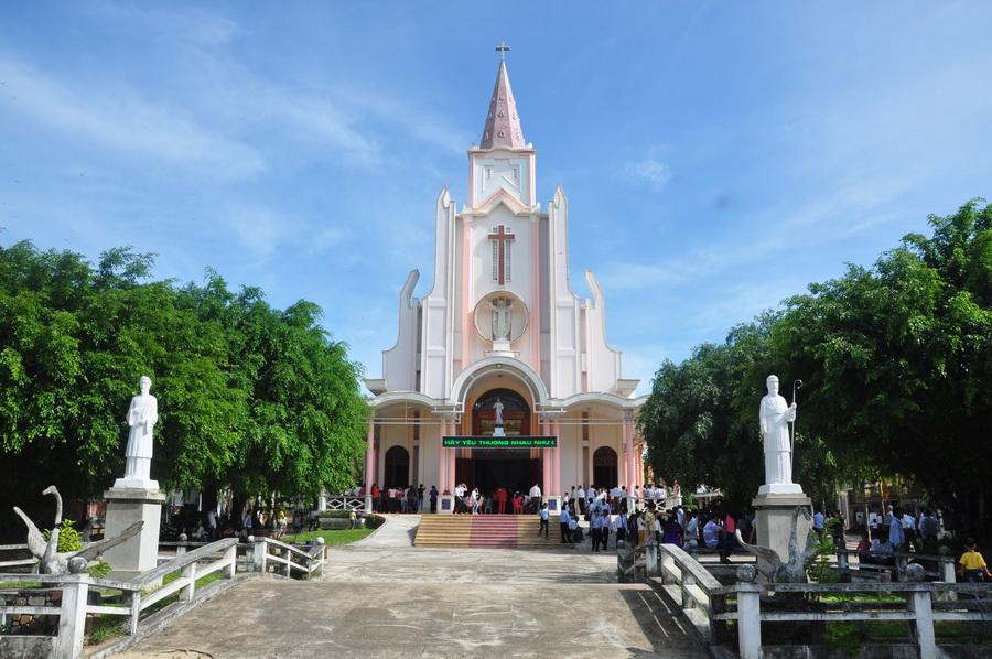 Thánh lễ trạm ngày cử hành Năm thánh tại Giáo hạt Bồng Sơn