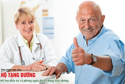Chăm sóc người tiểu đường trong những ngày ốm bệnh