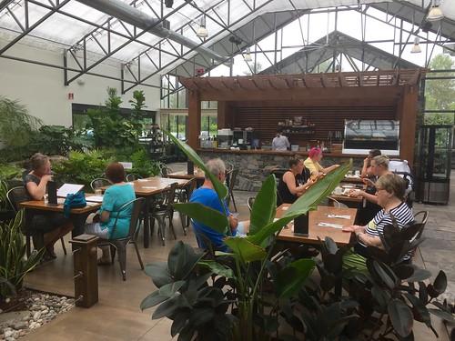 Inside the Aquatopia Cafe
