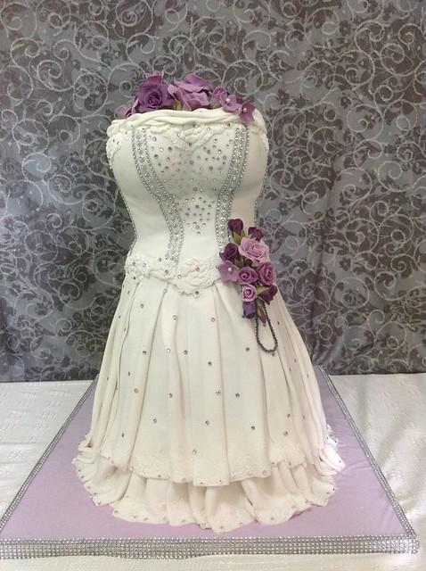 Dress Cake by Rekha Adjodia