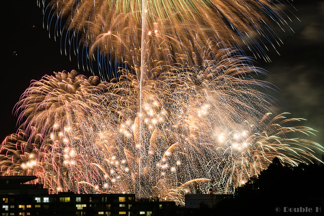 distant view of Biwako Fireworks Festival 2017 (12)