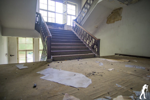 Lost Places: Verwaltungsgebäude administration building