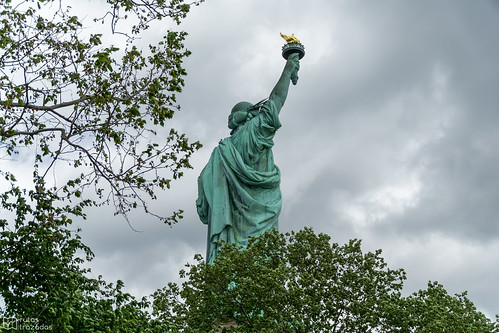 Statue of Liberty Back