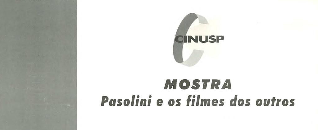 Pasolini e os Filmes dos Outros