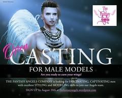 TFA Male Casting Ad - Khronoz