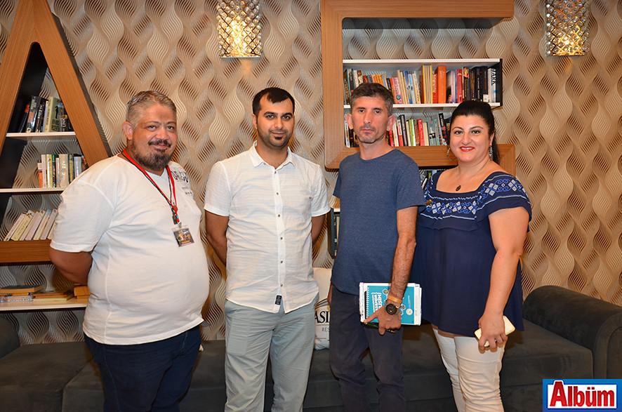 Alper Can Aydın, Gökhan Çekiç, Faruk Çetinkaya, İlkay Punalı