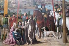 The Crucifixion | Michele da Verona | Pinacoteca di Brera di Milano-12