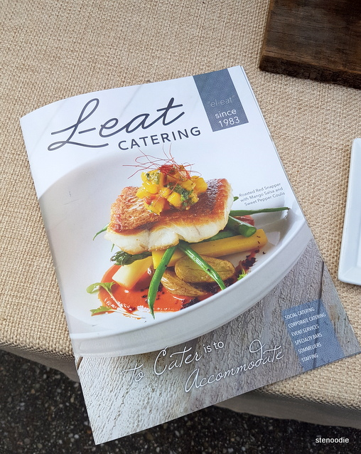 L-eat Catering catalog