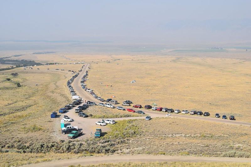 Road to Borah - Credit USFS