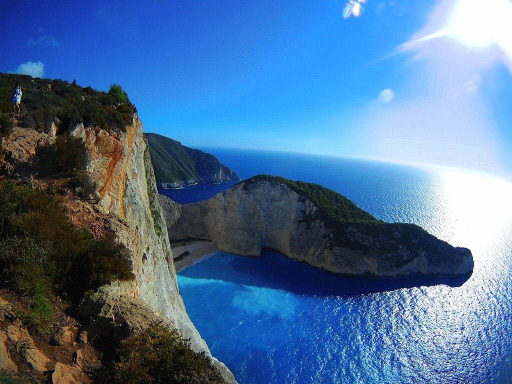 Navagio point of view