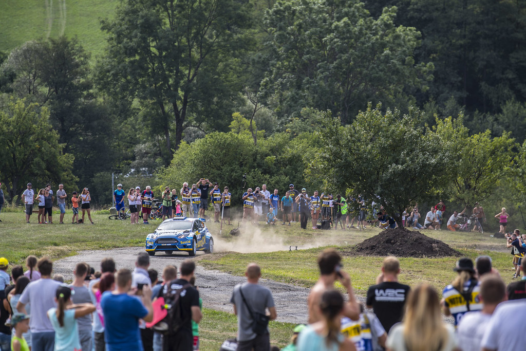07 PECH Vaclav (CZE) UHEL Petr (CZE) Ford Fiesta R5 action during the 2017 European Rally Championship ERC Barum rally,  from August 25 to 27, at Zlin, Czech Republic - Photo Gregory Lenormand / DPPI
