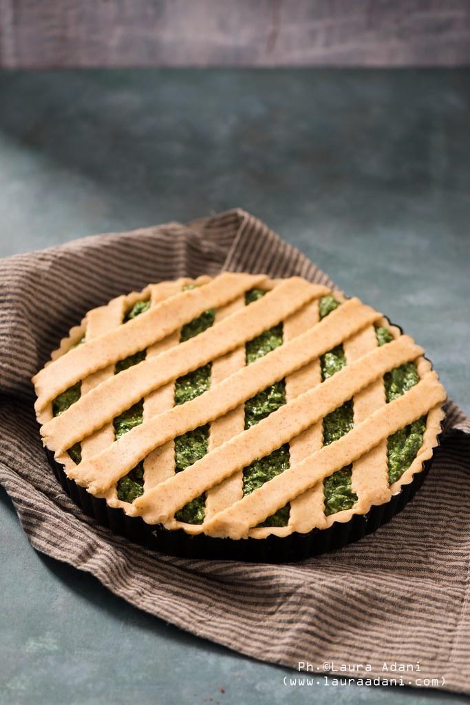 crostata integrale al parmigiano