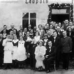 1948 Hochzeit beim Faltinger