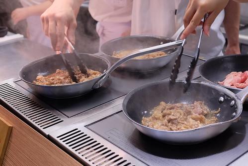 丸亀製麺 牛すき釜玉 牛すき月見 02