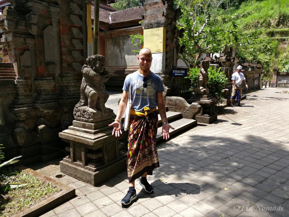 visiting hindu temple