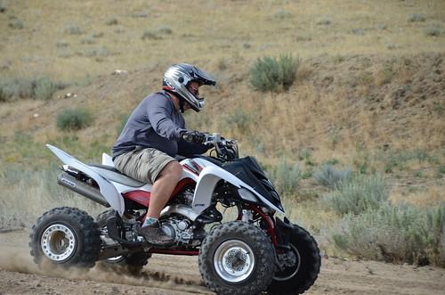 Cody Jim on ATV