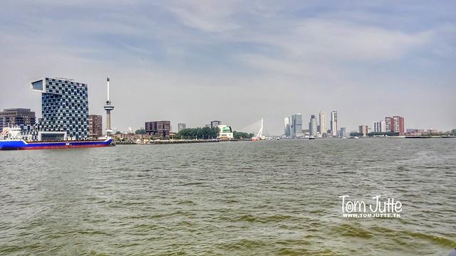 River Nieuwe Maas, Cityscape Rotterdam, The Netherlands - 5251