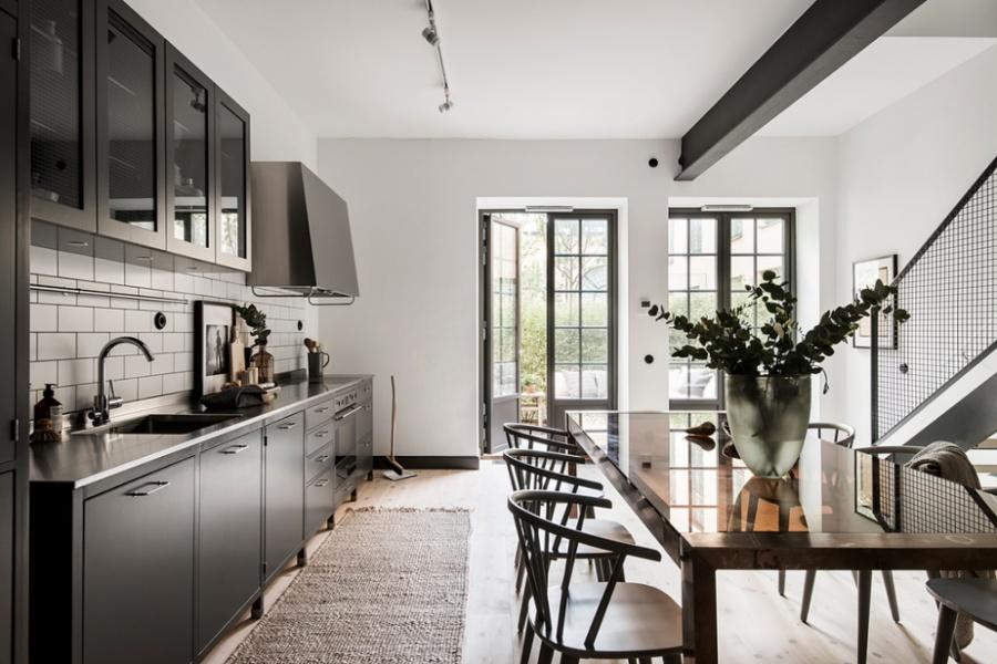 A Stylish Duplex In Sweden