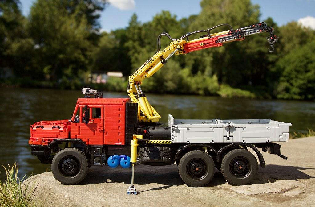 Lego Technic Mercedes Zetros MOC 7