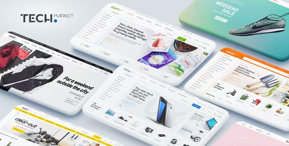 Techmarket - Multi-demo & Electronics Store Theme