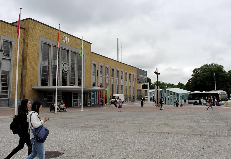 Brugge station, Belgium
