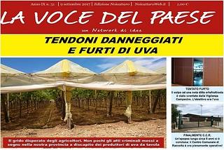 Noicattaro. Prima pagina n. 31-2017 front