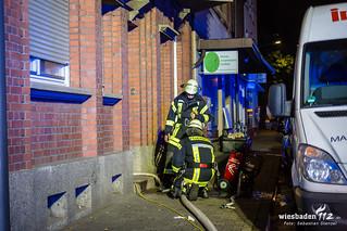Küchenbrand Mainz 02.09.17