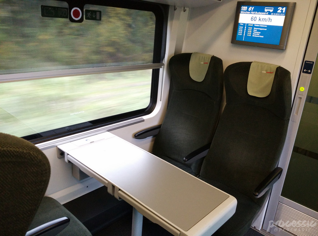 ÖBB Train Railjet