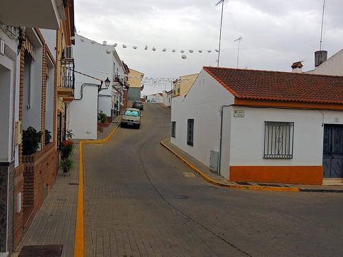 <Calle Trinidad> El Granado (Huelva)