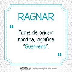 Significado do nome Ragnar