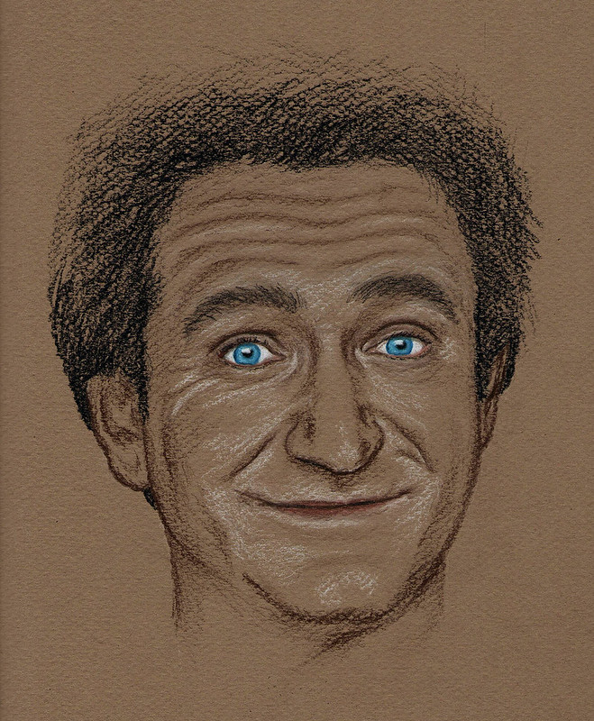 Robin William Portrait