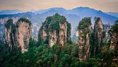 Zhangjiajie National Park in Hunan, China