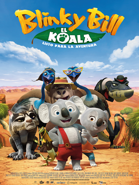 Cartel: Blinky Bill, el koala (2015)