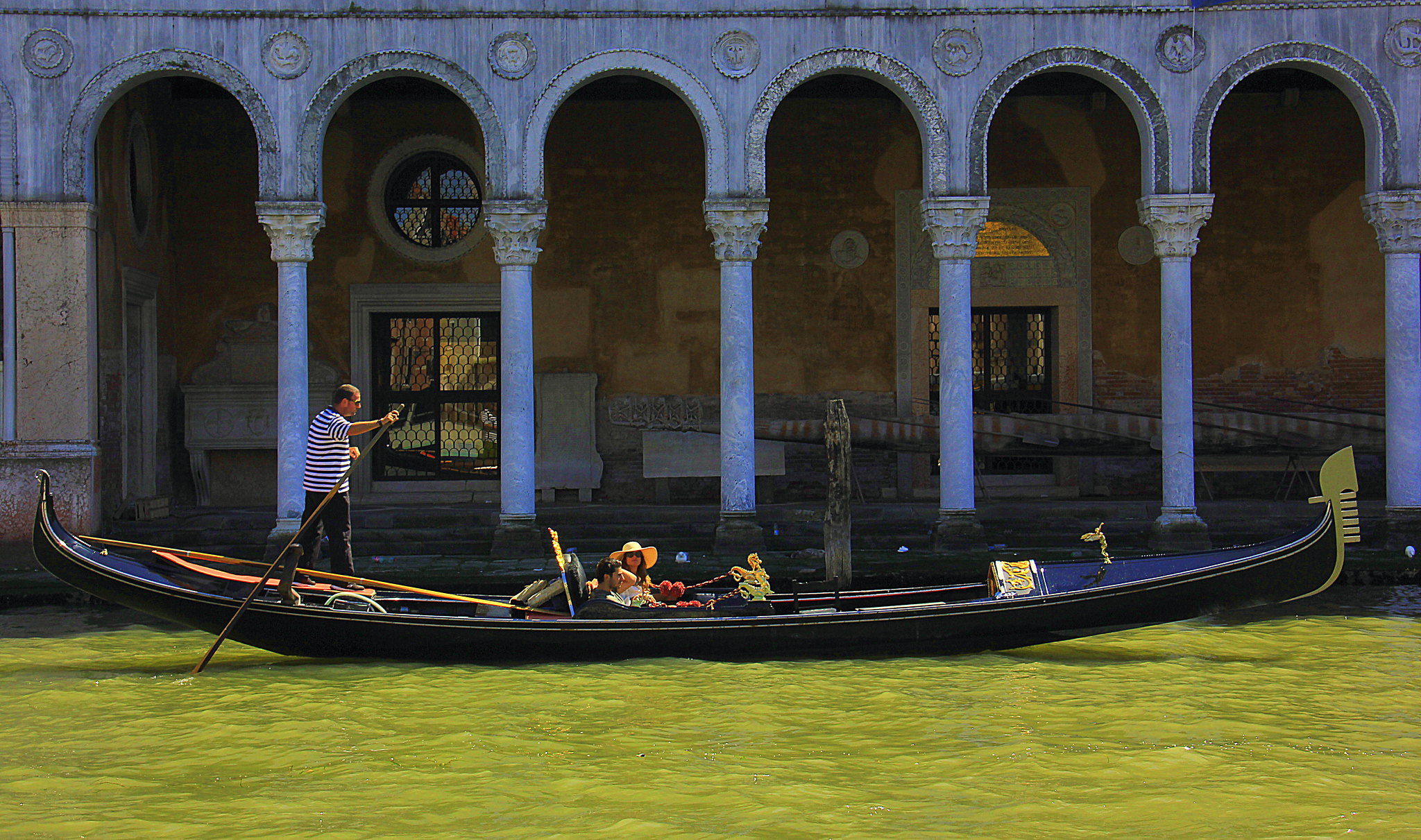 A gondola ride is a must do thing on your Venice trip