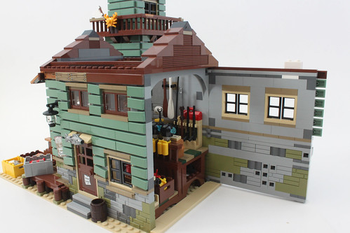 Lego ideas old fishing store 21310 review the brick for Lego ideas old fishing store