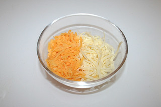 21 - Zutat geriebener Käse / Ingredient grated cheese