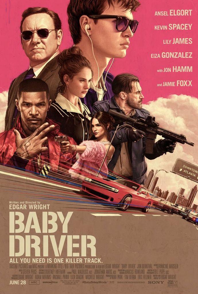 ベイビー・ドライバーのポスター