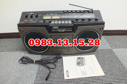 Cassette SUPERSCOPE CRS-4000 FM MW PHONO LINEINPUT