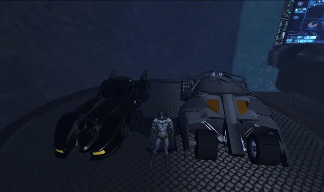 Batmobile&Tumbler